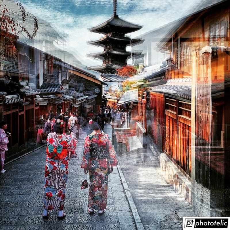 Hokan-ji Temple - Kyōto - Japan