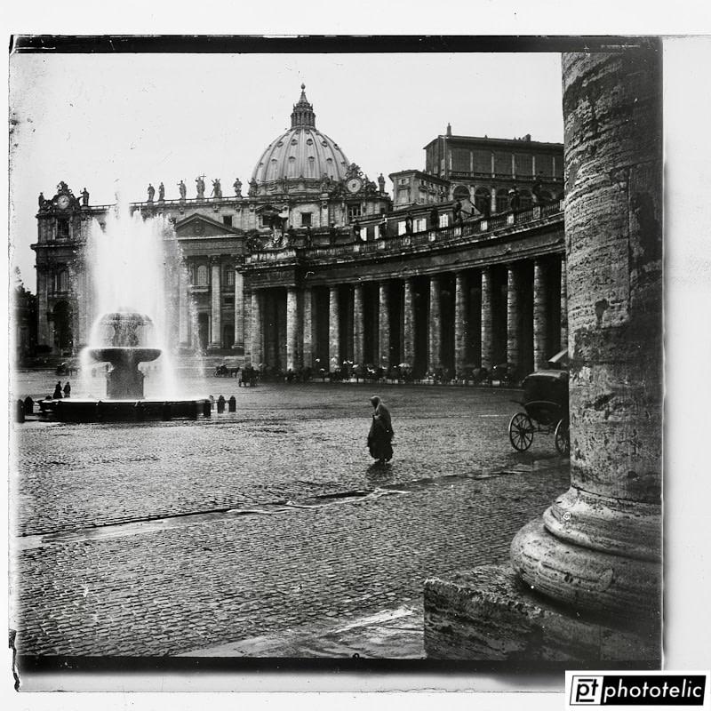 Vatican Palace & San Pietro Plaza