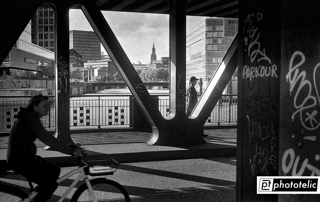 Oberhafenbrücke in Hamburg
