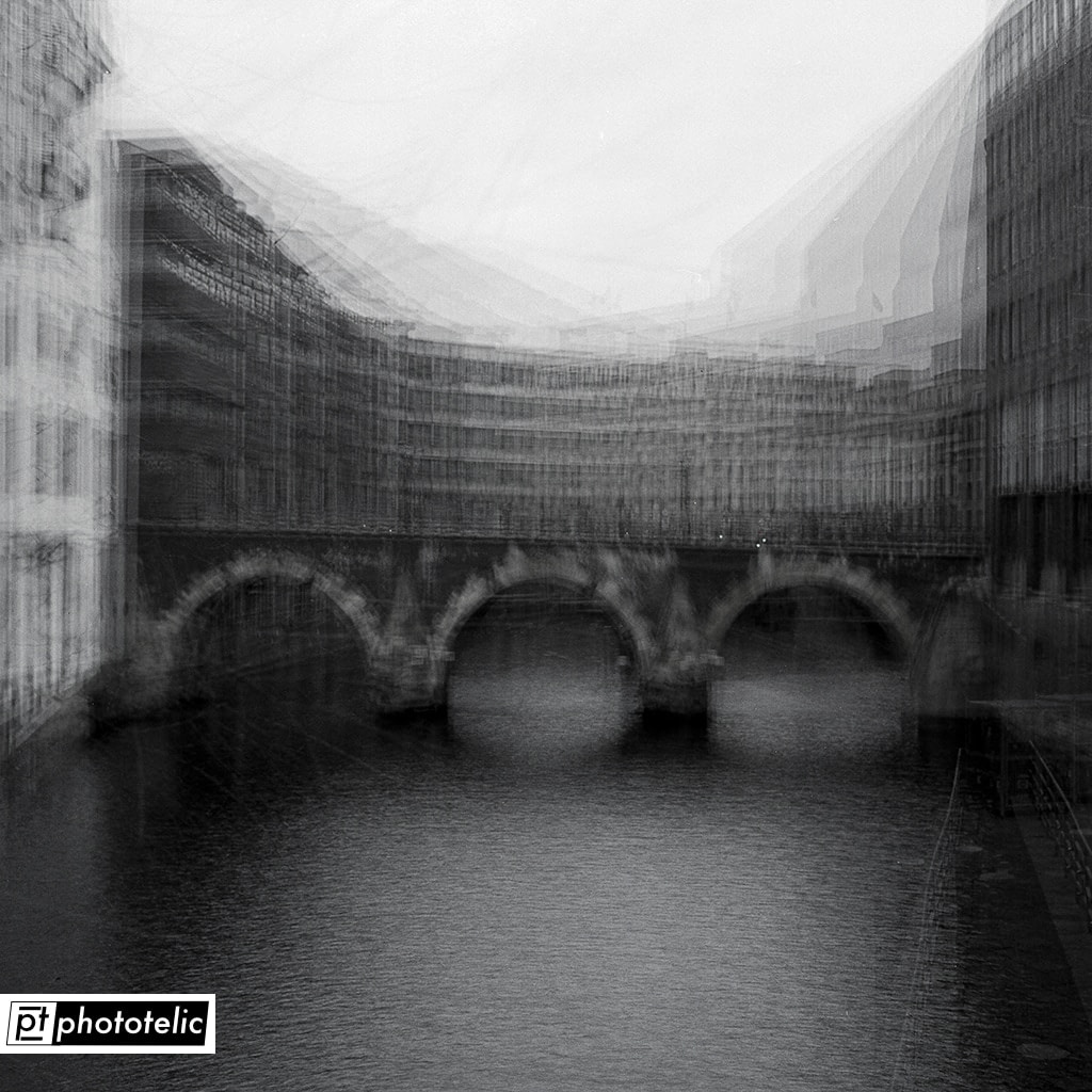 Unity - Bridges - Multiple Exposure Hamburg